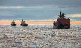 Le réchauffement climatique et la route de la soie russe